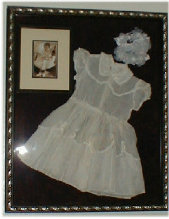 Vintage 1960 Flower Girl Dress and Photo